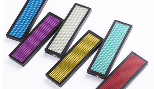 LED naambadges