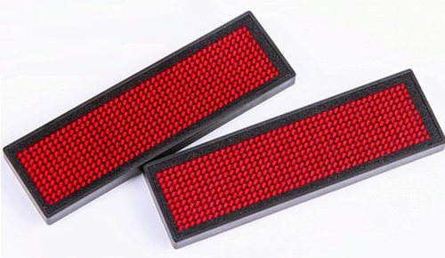 LED Naambadge Rood(1x)